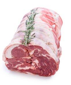 rolled shoulder of lamb