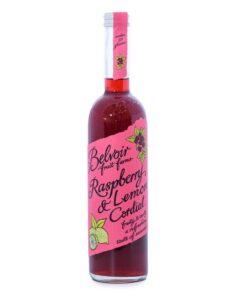 Raspberry and lemon cordial