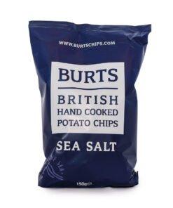 Burts Sea Salt Crisps 150g