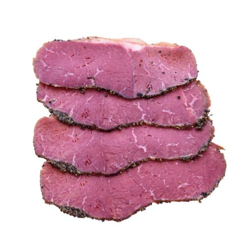 peppered beef