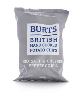 Burts sea salt and peppercorn crisps