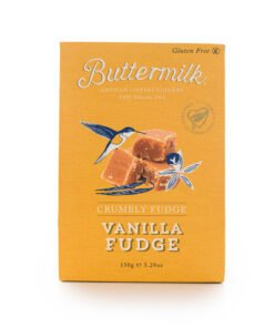Buttermilk crumbly vanilla fudge