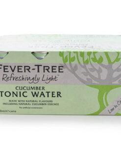 fever tree refreshingly light cucumber