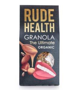 rude health ultimate organic granola
