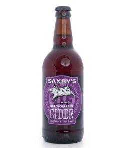 Saxby's Blackcurrant Cider
