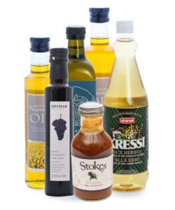 Oils, vinegars and dressings