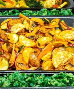 lemon, chilli, ginger and chicken stir fry