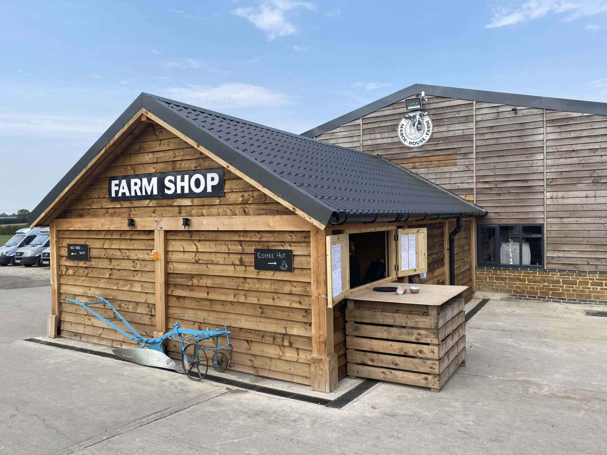 The new March House Farm Shop is now open