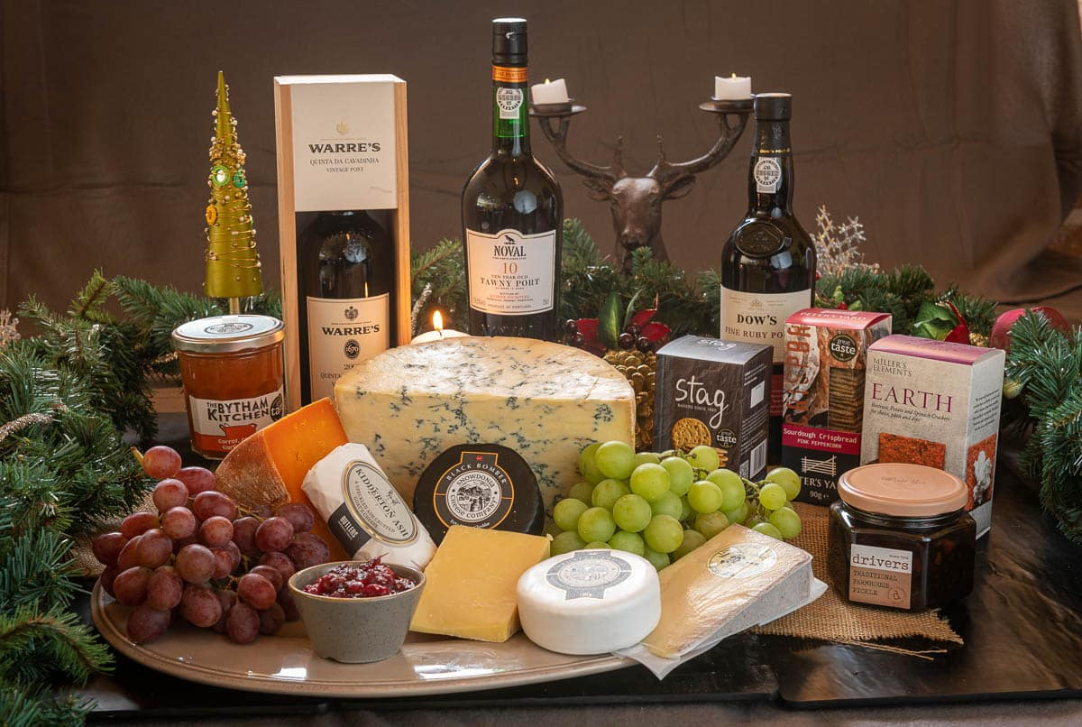 cheese ports and chutnies