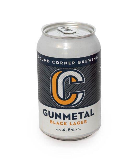 Round Corner Gunmetal Lager